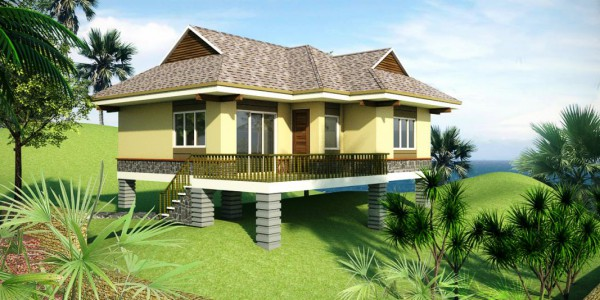 Elevated villa_Front1